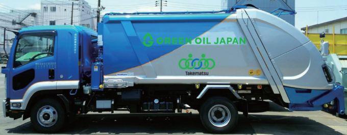 セブンイレブンがペットボトル回収車でユーグレナが供給するバイオディーゼル燃料の使用を始めた