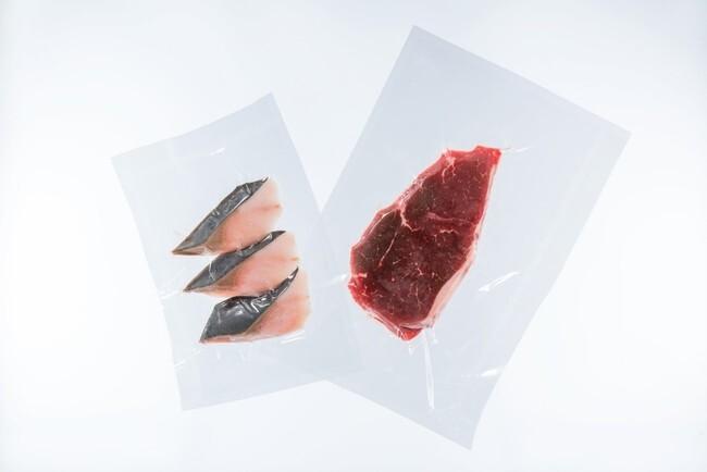 冷凍食品向け長期品質保持可能な環境パッケージ」のイメージ