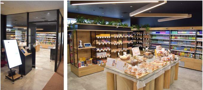 NTT東日本の本社ビル内にオープンする「スマートストア」