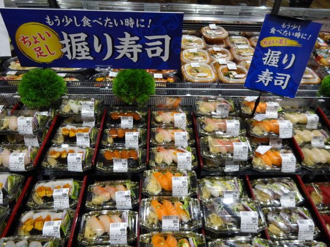 寿司売場の写真