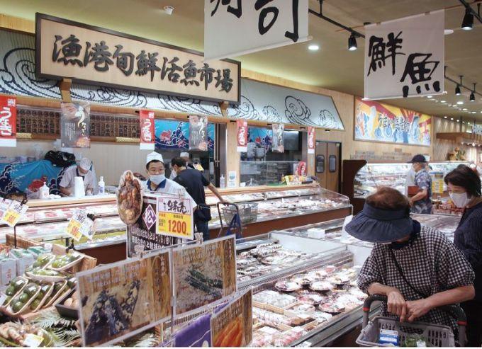 コスモコーポレーションの生鮮売場
