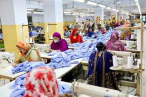 バングラディッシュの縫製工場