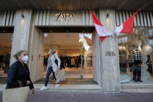 モナコのZARAの店舗