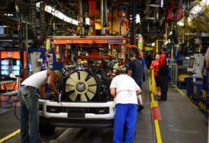 米ケンタッキー州の製造工場