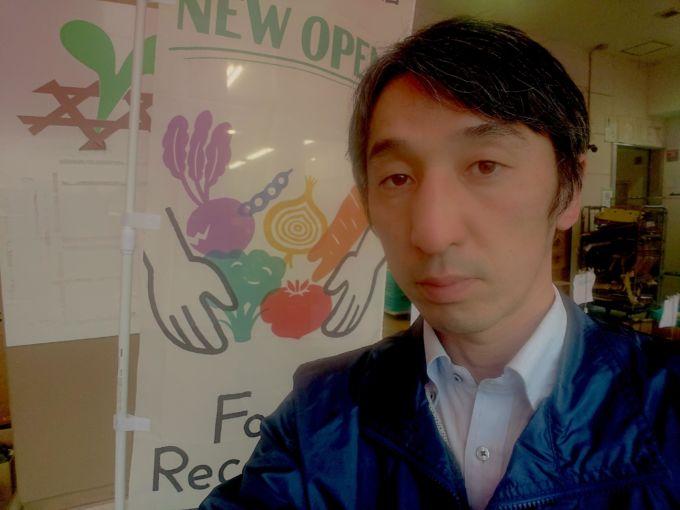植田全紀社長の写真。