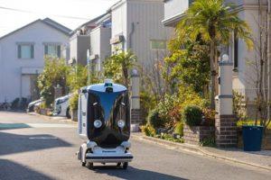 パナソニックの自律走行ロボット