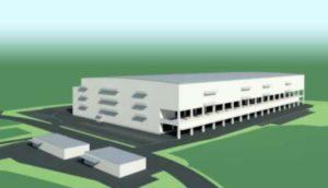 カインズ「三重県新物流センター」イメージ図