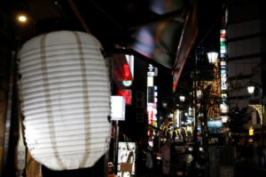 東京都内の繁華街