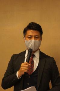 第21回JAPANドラッグストアショー実行委員長の江黒太郎氏