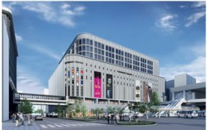 仙台駅東口に、ヨドバシの大型商業ビルが開業予定(完成イメージ)