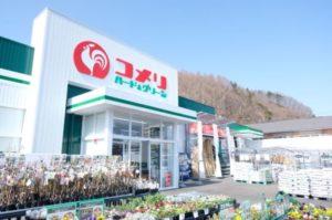 コメリ ハード&グリーン妙高店の外観イメージ