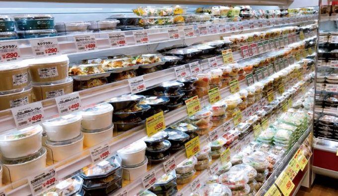 成城石井の総菜売場