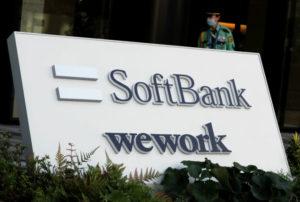 ソフトバンクとWeWorkのロゴ