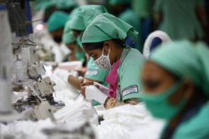 バングラデシュの衣料品工場