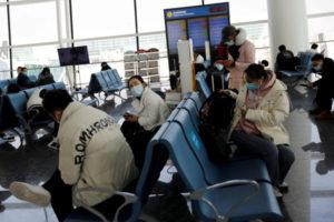 湖北省の武漢天河国際空港