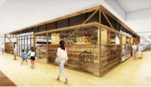 ビバホーム赤間店内にオープンする、初のアウトドア専門店「CAMP GEAR」完成イメージ図