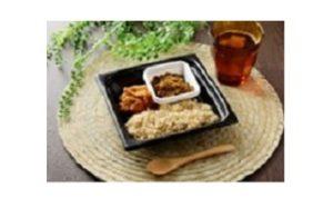 ローソンの食塩と化学調味料不使用のカレー「玄米のダールカレー(レンズ豆)」&カシューナッツチキンカレー」