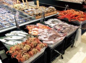 アルビスの鮮魚売場