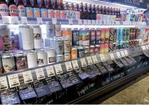クラフトビール売場