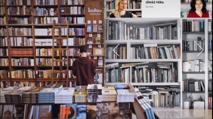 各自に本棚のシェアを呼びかけ、バーチャル上でその本棚から書籍を選べばECで買える仕組みを作り、売上が急増したハンガリーの書店『ライターズショップ』