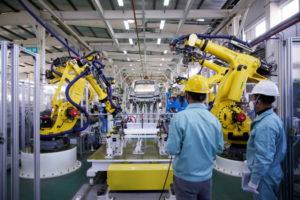 上海の工場