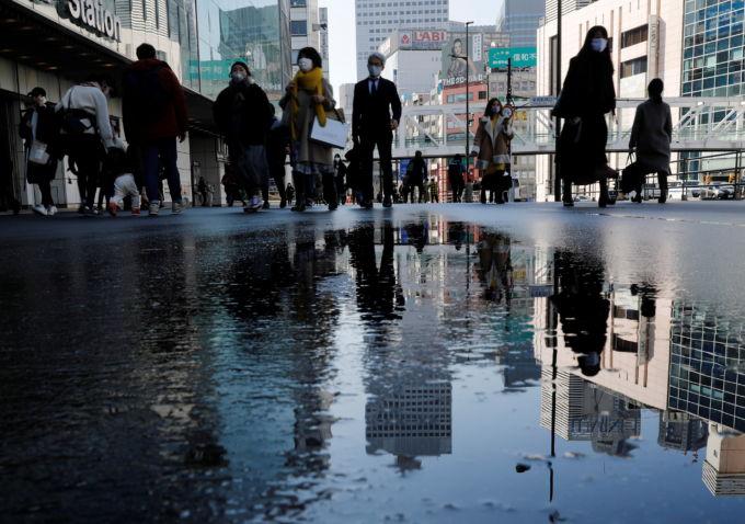 雨上がりの都内