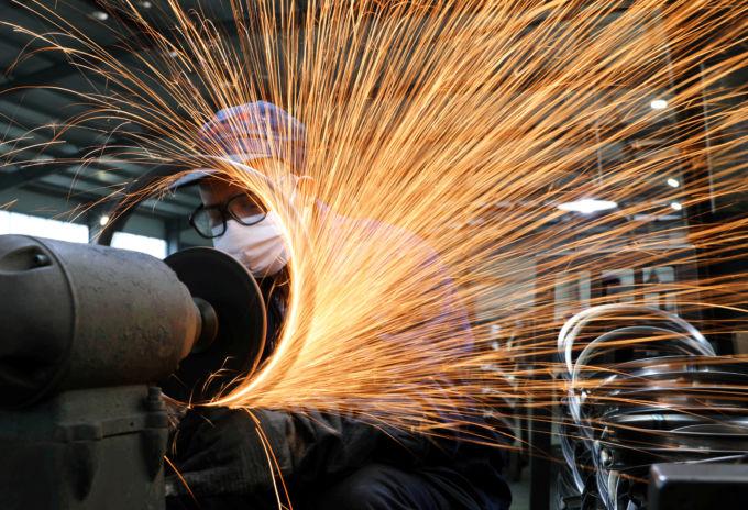 浙江省杭州市の二輪車工場