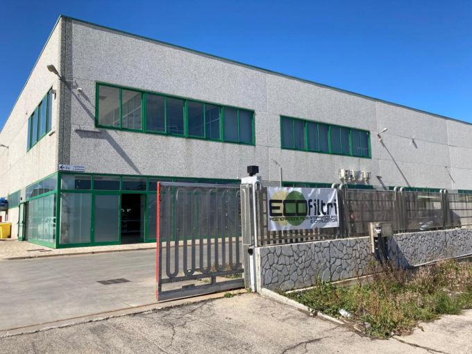 イタリア アブルッツォ州バストのエコフィルトリ本社オフィス