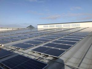 バローホールディングスが店舗に設置するオリックスの太陽光発電システム