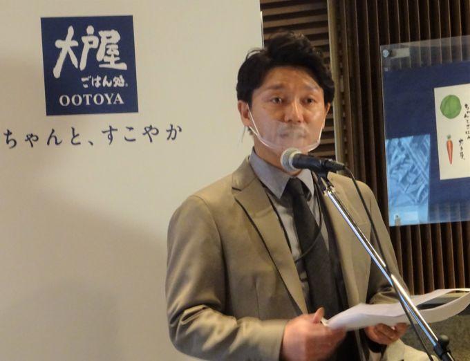 大戸屋HD新社長の蔵人賢樹氏