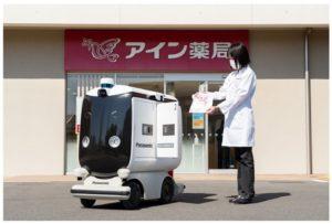 アインHDがロボットでの処方薬の配送実験を始めた