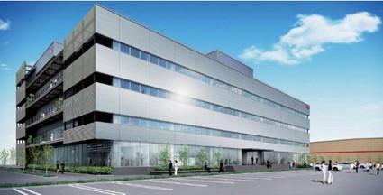 千葉県木更津市に完成するコストコ日本法人の本社の完成イメージ図
