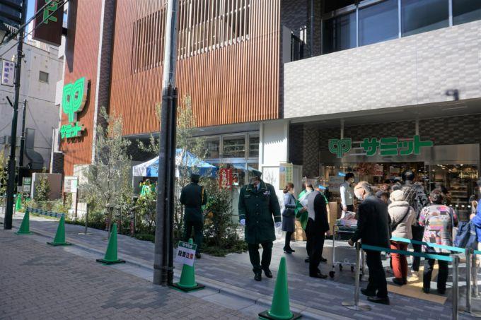 3月3日にオープンした「サミットストア西荻窪駅南店」