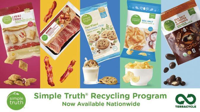 テラサイクルとの提携による、クローガーの包装材のリサイクルプログラム「シンプルゥルース・リサイクリングプログラム」