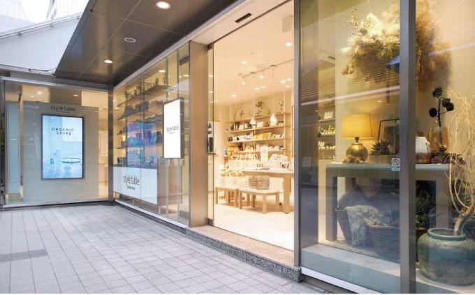 style table 新宿ミロードモザイク通り店の外観