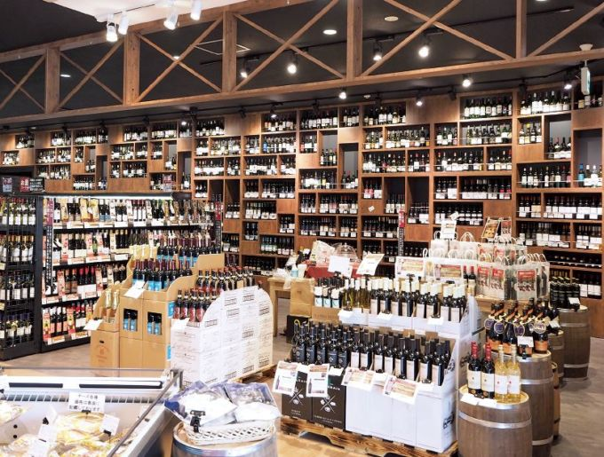 PRIME FOODS MARKET静岡1st.のワイン売場