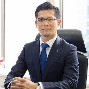 代表取締役社長 林雅也 氏