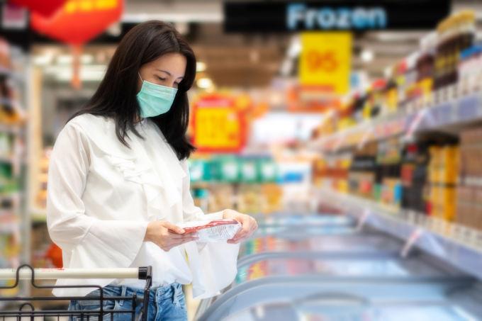 冷凍食品 売場 イメージ