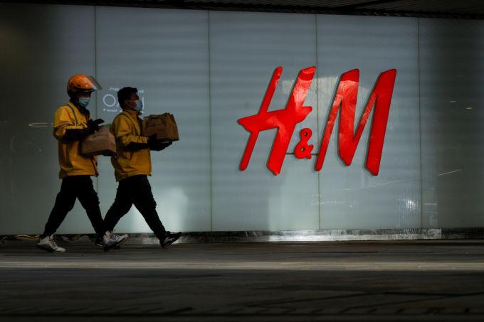 中国・北京のH&M店舗