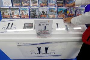 ビックカメラのゲームソフト売り場