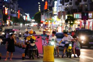 中国の街中の様子