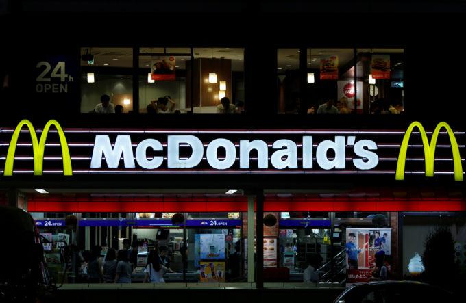 都内のマクドナルド店舗