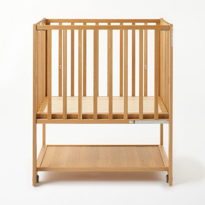 無印良品のサブスクリプションサービスの商品、新発売の木製ベビーベッド