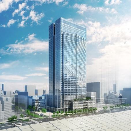 三井不動産が東京駅前に建設予定の複合高層ビル「東京ミッドタウン八重洲」完成イメージ