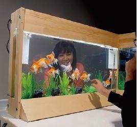 「第56回JAPAN DIY HOMNECENTER SHOW 2020 ONLINE」でジャペルが提案した「アクアリウムパーテーション」