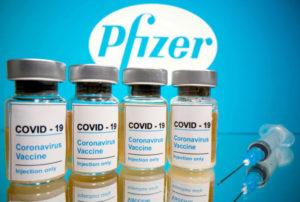 米ファイザー、コロナワクチンの売上高見通し