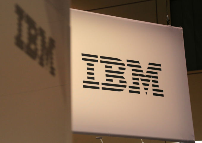 IBMのロゴ