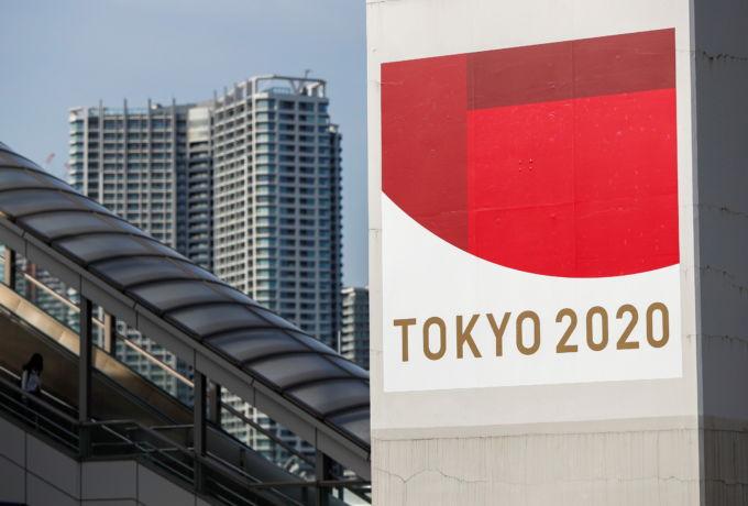 東京オリンピックの広告