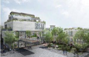 小田急のライフスタイル提案型商業施設「テフ ラウンジ」の完成イメージ