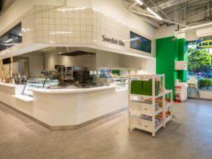 「IKEA新宿店」の店内